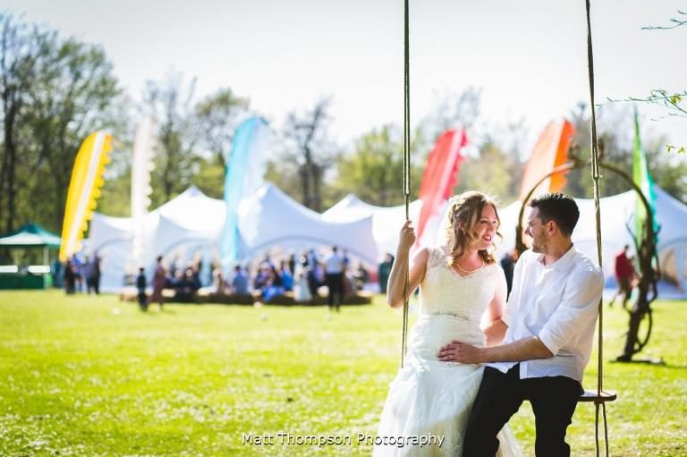 festival themed wedding