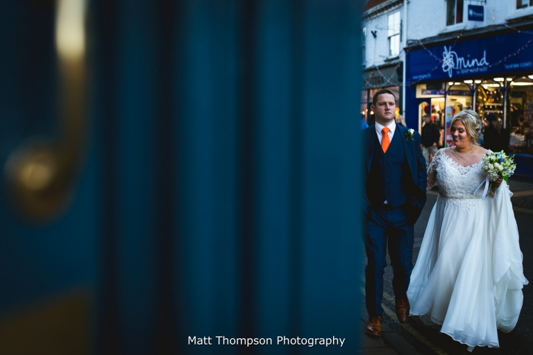 York wedding couple