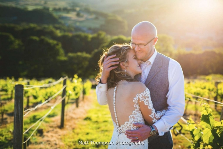 Holmfirth Vineyard wedding photography