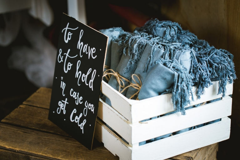 wedding photography bucket list blankets